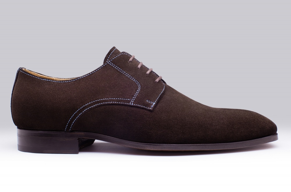 Derby MATT Brown Suede